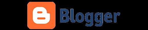 Logo da plataforma Blogger