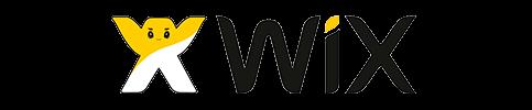 Logo da plataforma Wix